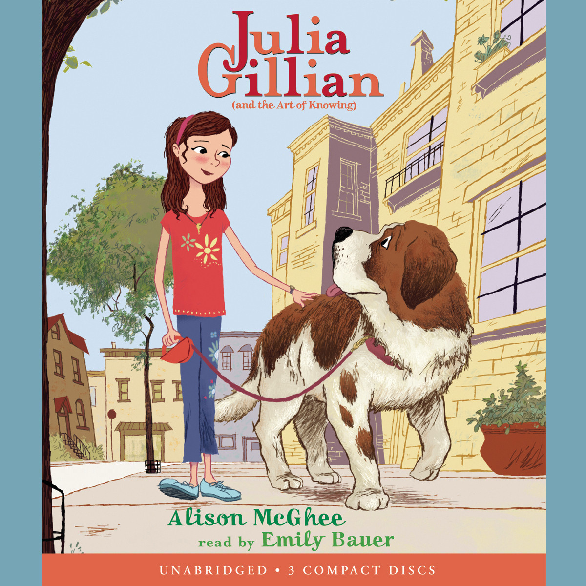 Printable Julia Gillian (and the Art of Knowing) Audiobook Cover Art