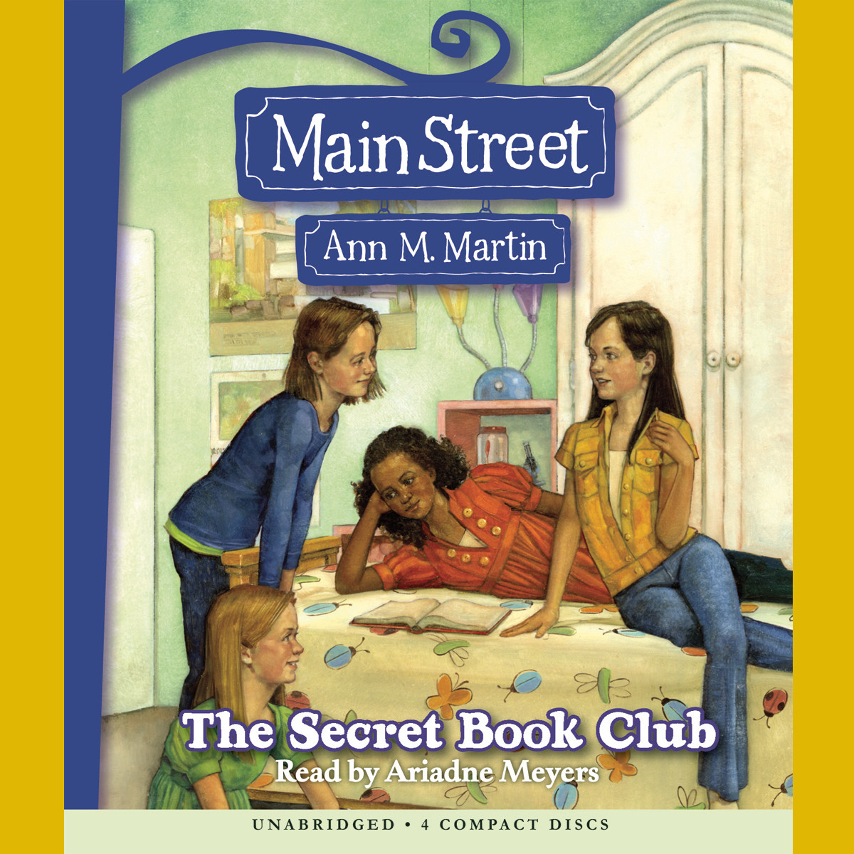 Printable The Secret Book Club Audiobook Cover Art