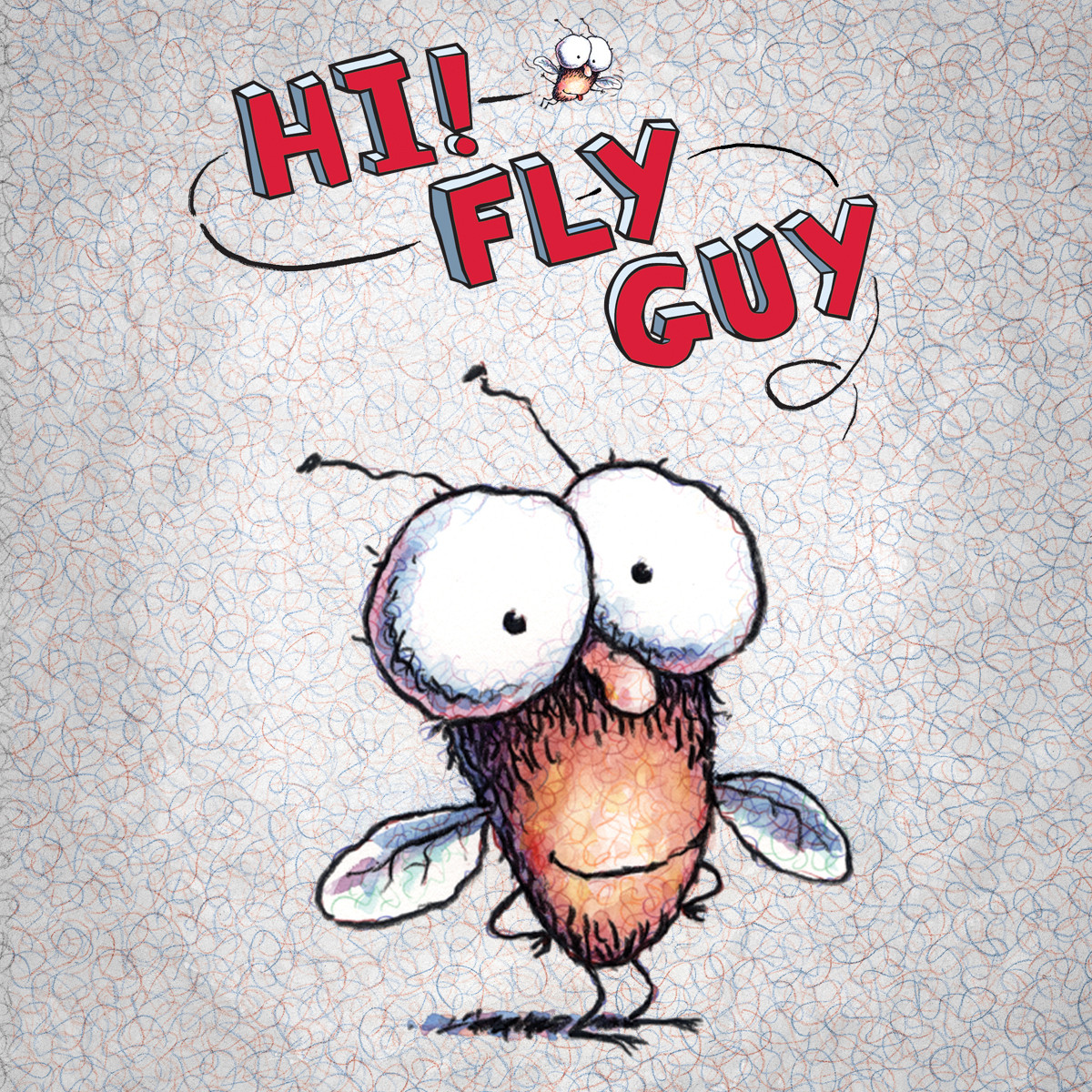 Printable Hi! Fly Guy Audiobook Cover Art