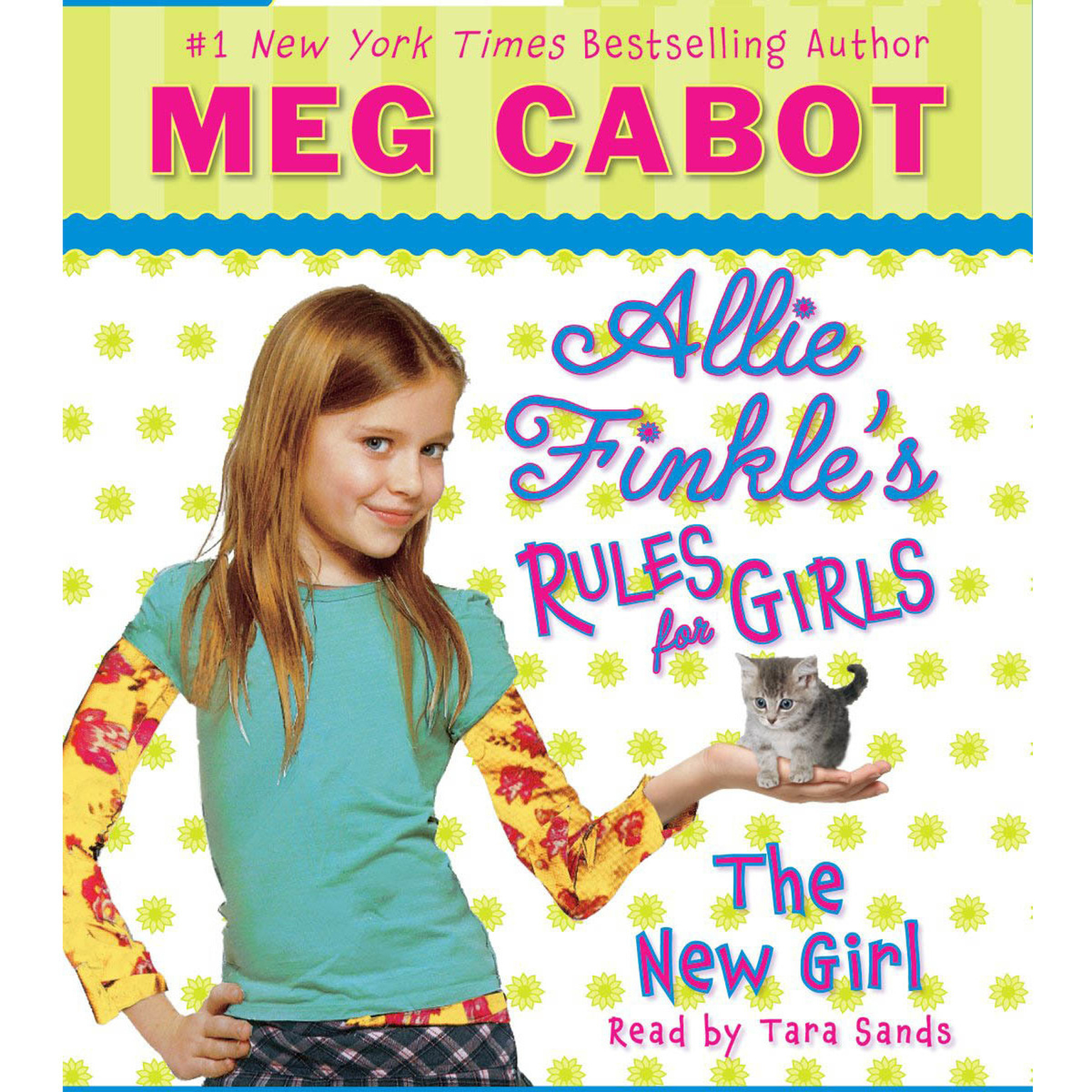 Printable The New Girl Audiobook Cover Art