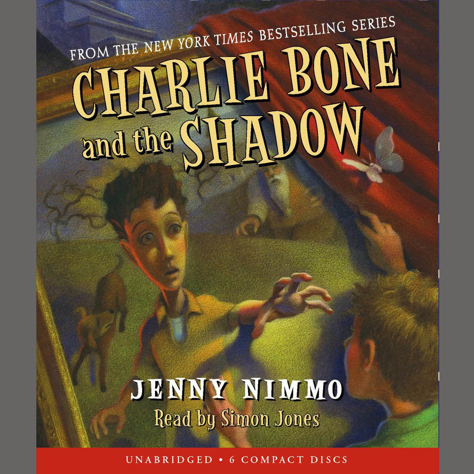 Printable Charlie Bone and the Shadow Audiobook Cover Art
