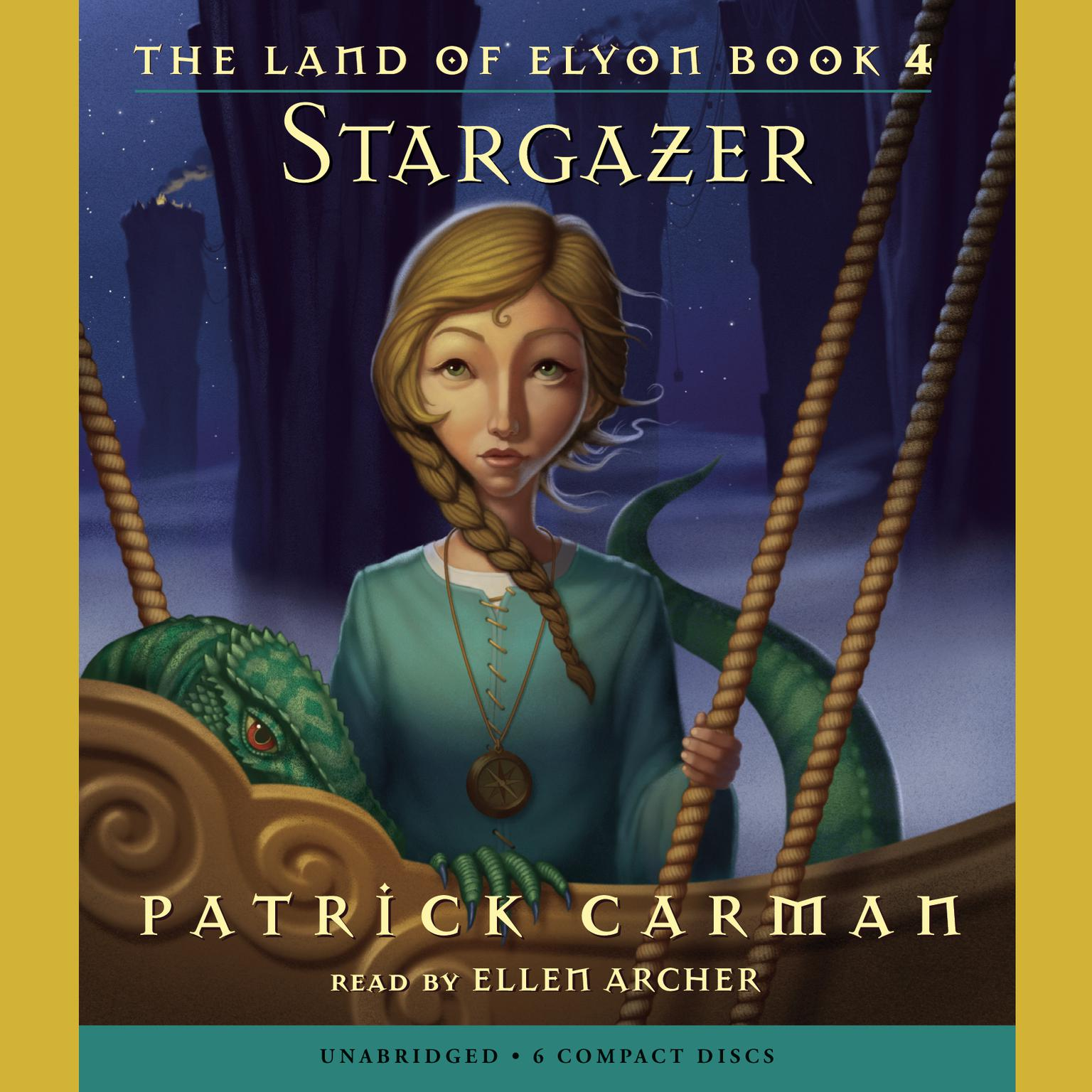 Printable Stargazer Audiobook Cover Art