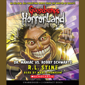 Dr. Maniac vs. Robby Schwartz Audiobook, by R. L. Stine