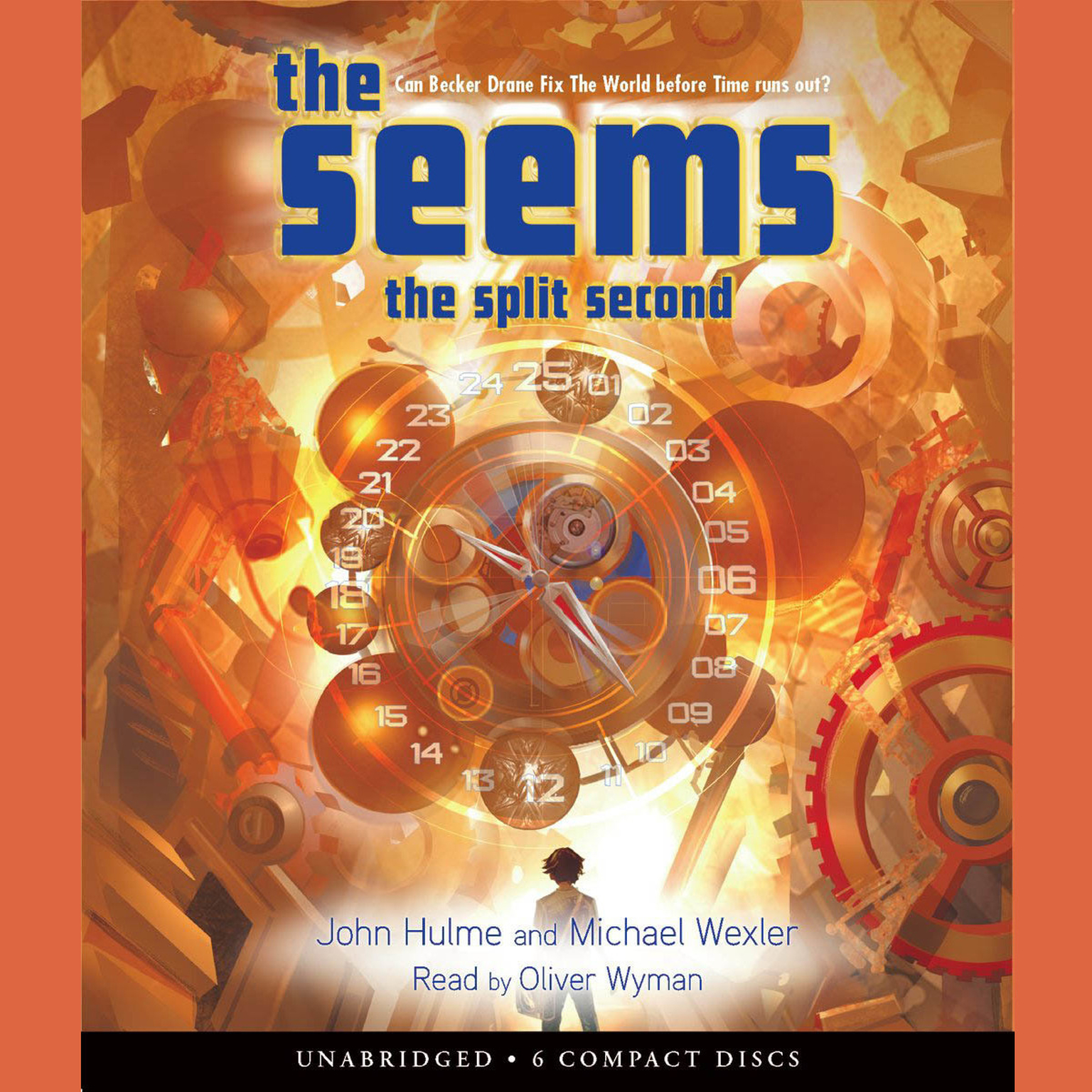 Printable The Split Second Audiobook Cover Art