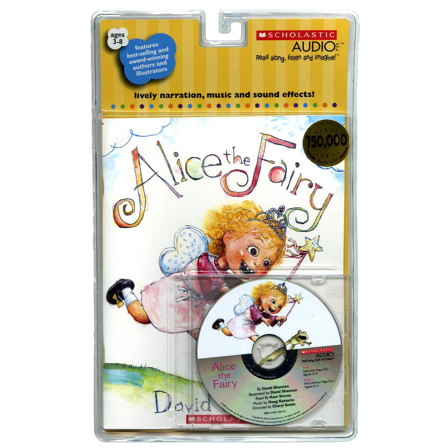 Printable Alice the Fairy Audiobook Cover Art
