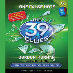 One False Note Audiobook, by Gordon Korman