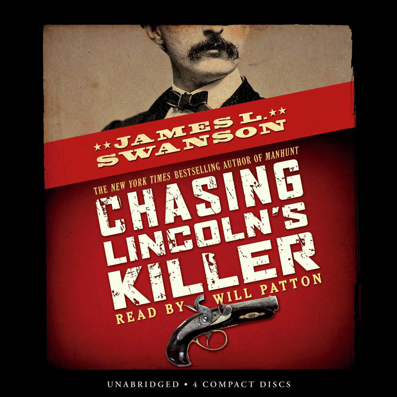 Printable Chasing Lincoln's Killer Audiobook Cover Art