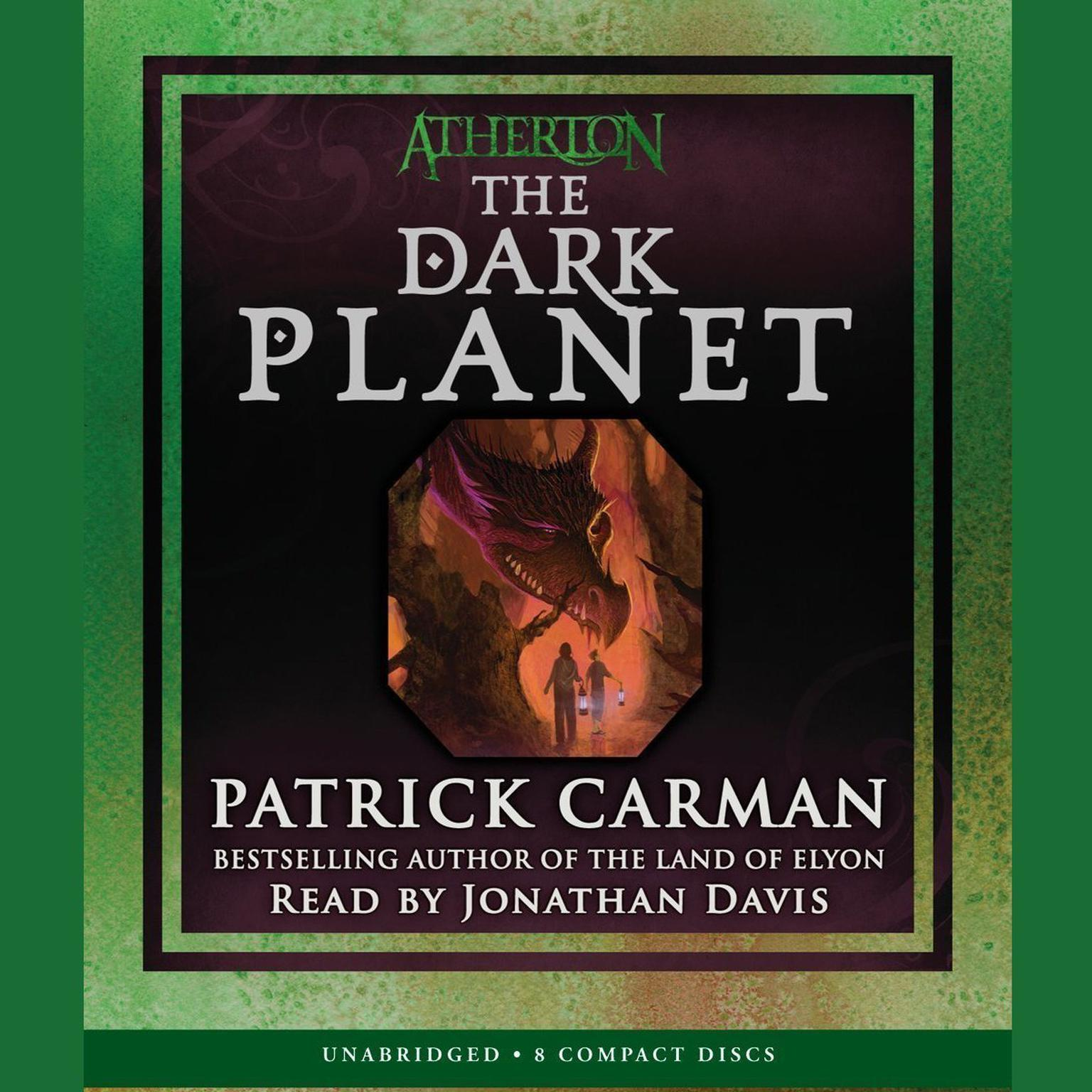 Printable The Dark Planet Audiobook Cover Art