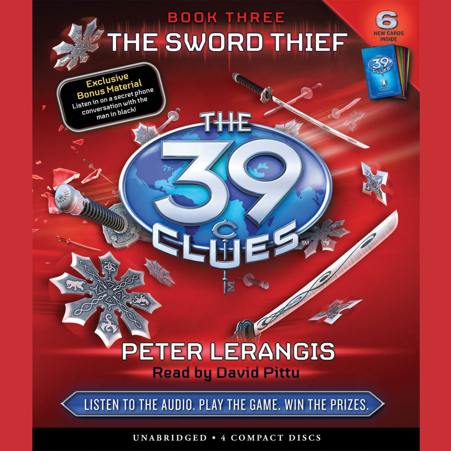 Printable The Sword Thief Audiobook Cover Art
