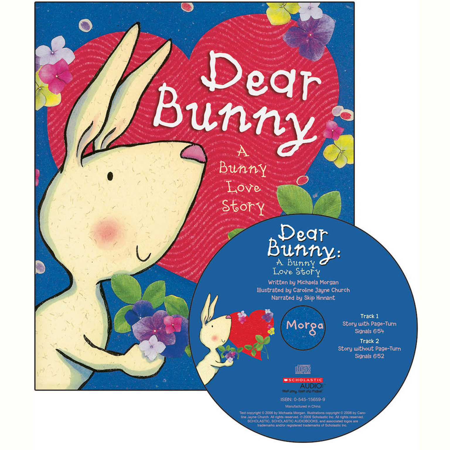 Printable Dear Bunny: A Bunny Love Story Audiobook Cover Art