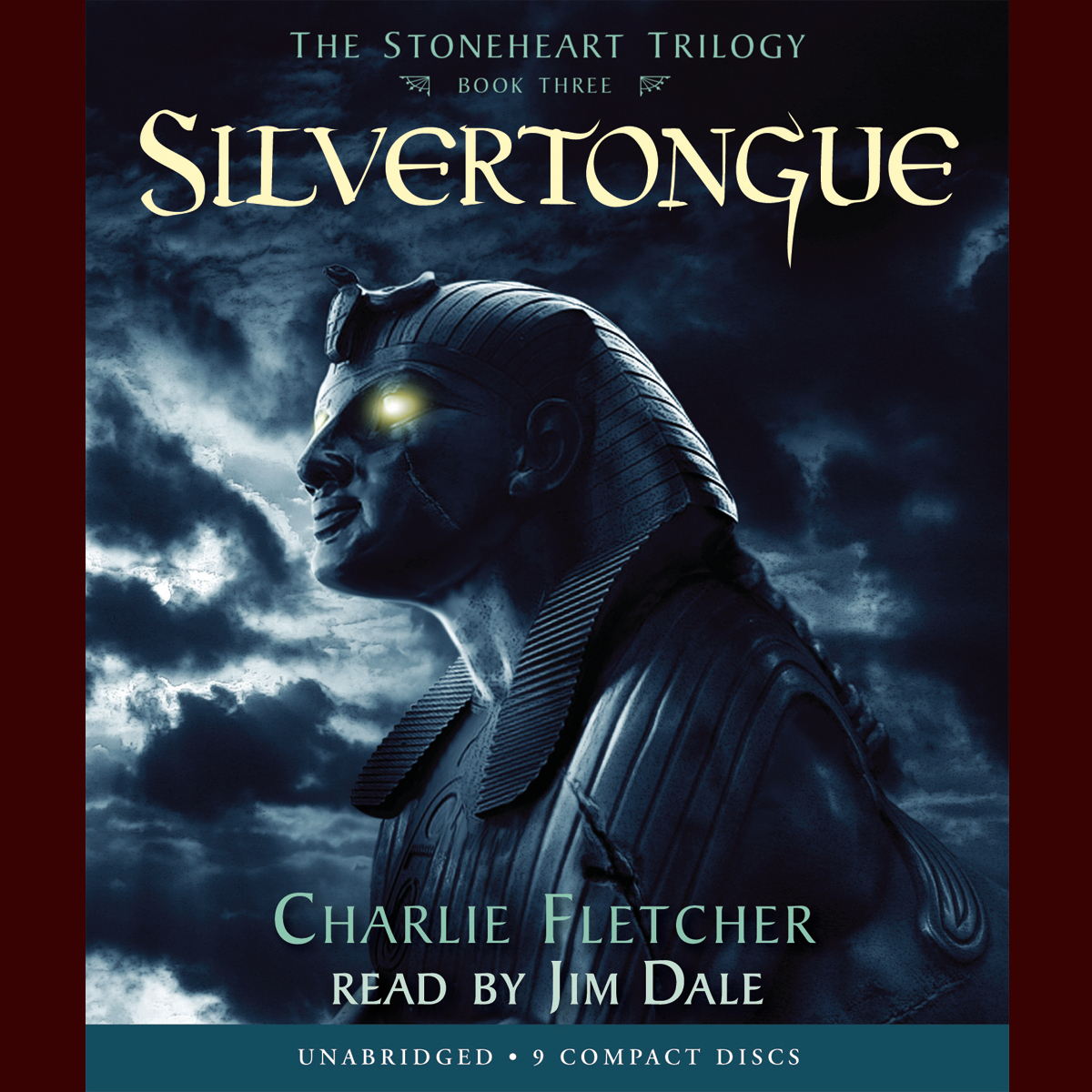 Printable Silvertongue Audiobook Cover Art