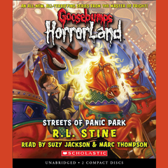 The Streets of Panic Park Audiobook, by R. L. Stine