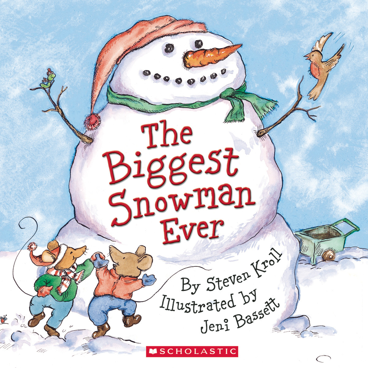 Printable The Biggest Snowman Ever Audiobook Cover Art