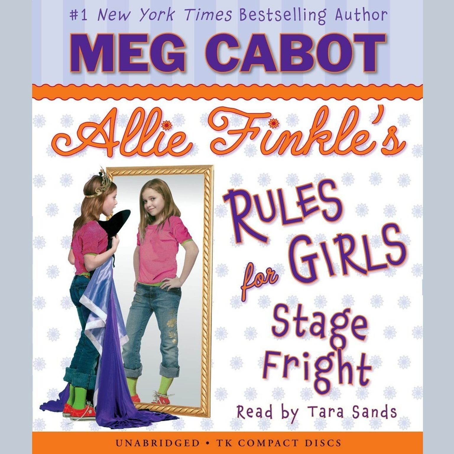Printable Stage Fright Audiobook Cover Art