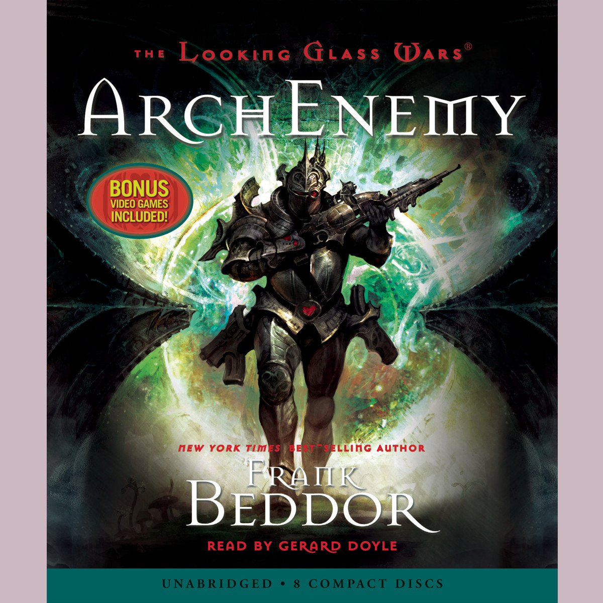 Printable ArchEnemy Audiobook Cover Art