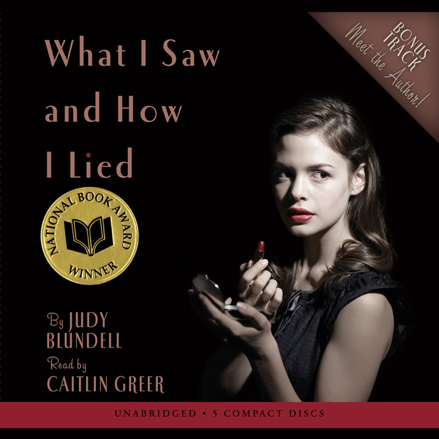 Printable What I Saw and How I Lied Audiobook Cover Art