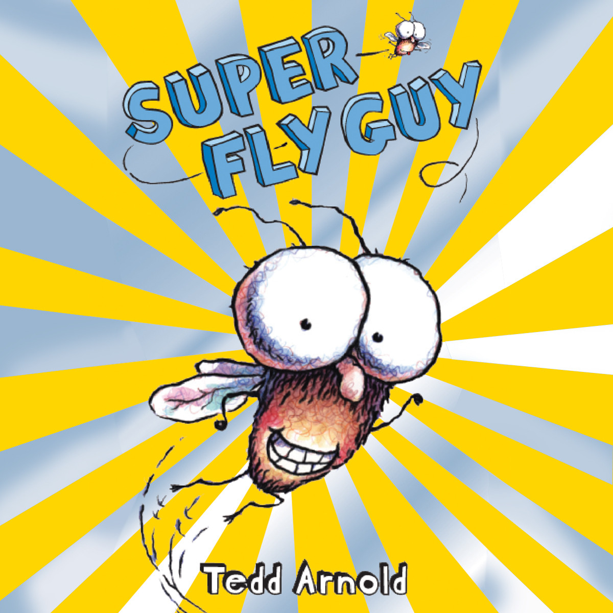 Printable Super Fly Guy! Audiobook Cover Art