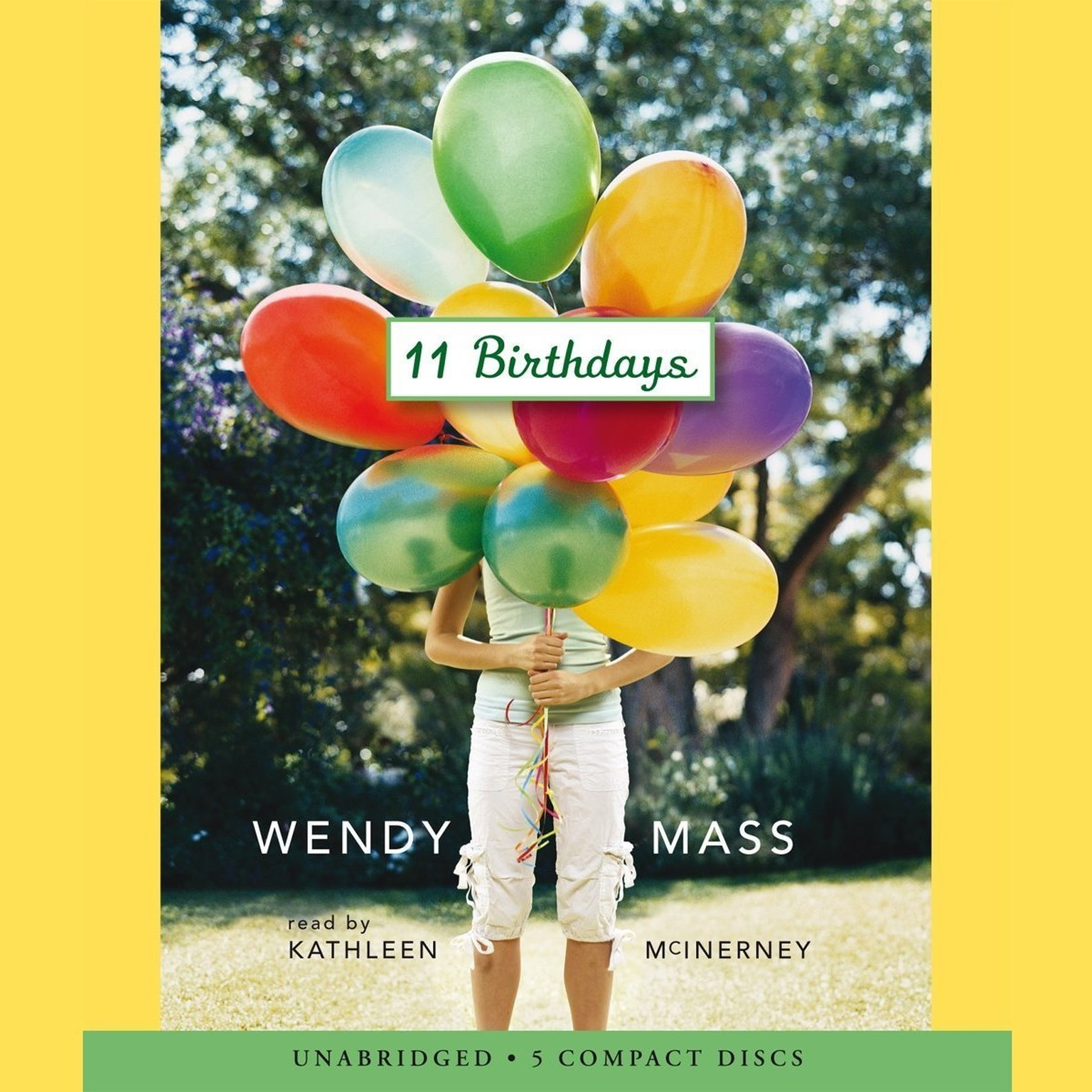 Printable 11 Birthdays Audiobook Cover Art