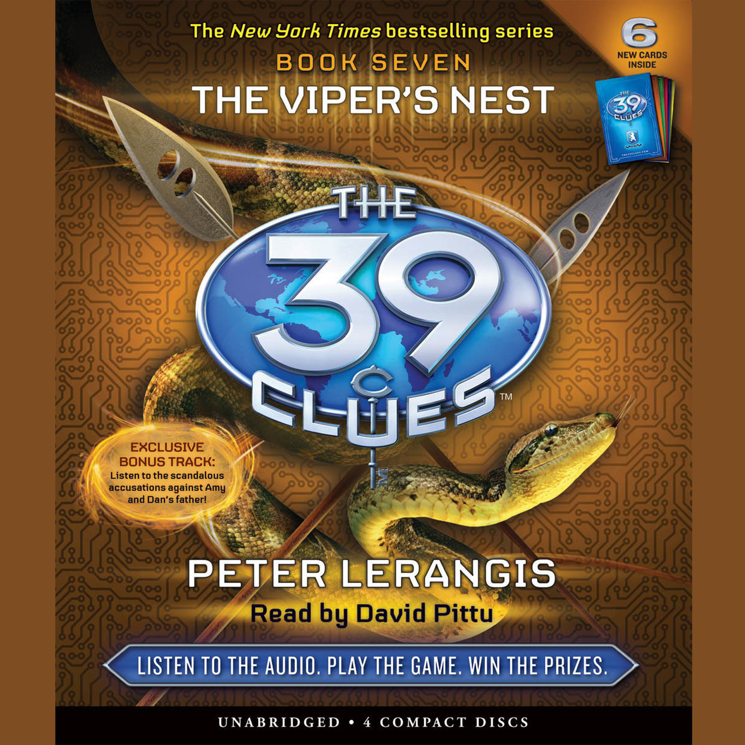 Printable The Viper's Nest Audiobook Cover Art