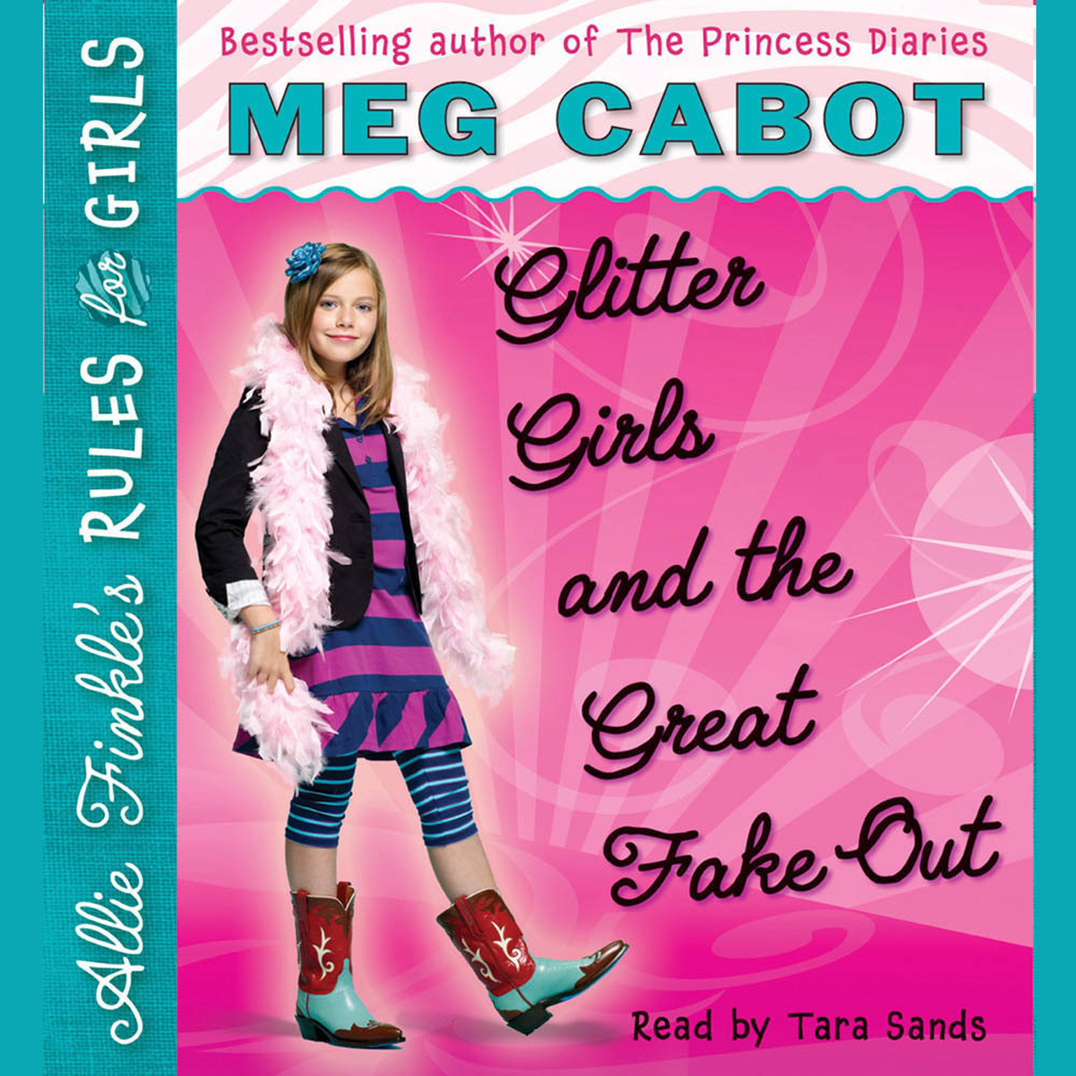 Printable Glitter Girls and the Great Fake Out Audiobook Cover Art