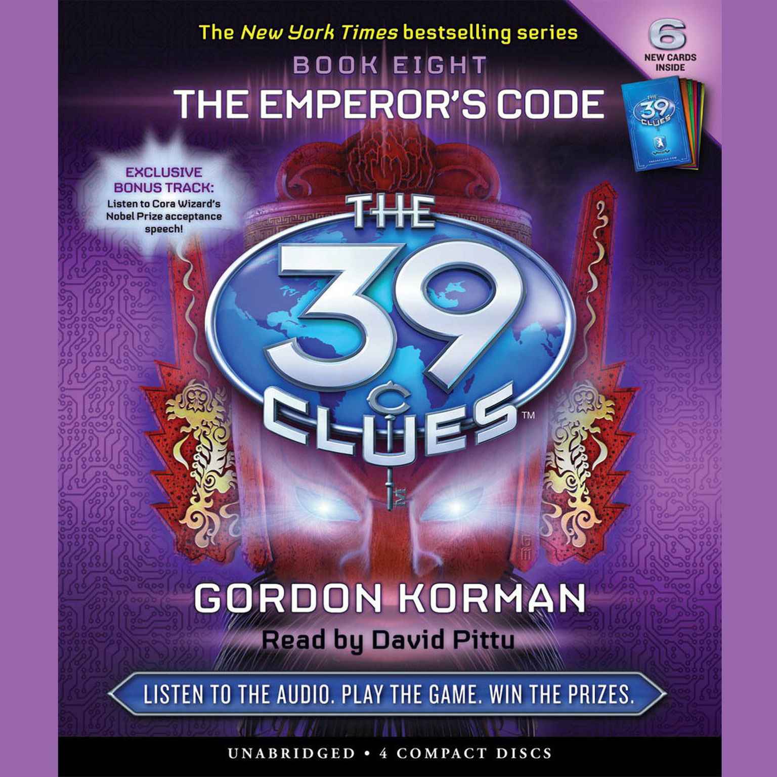 Printable The Emperor's Code Audiobook Cover Art
