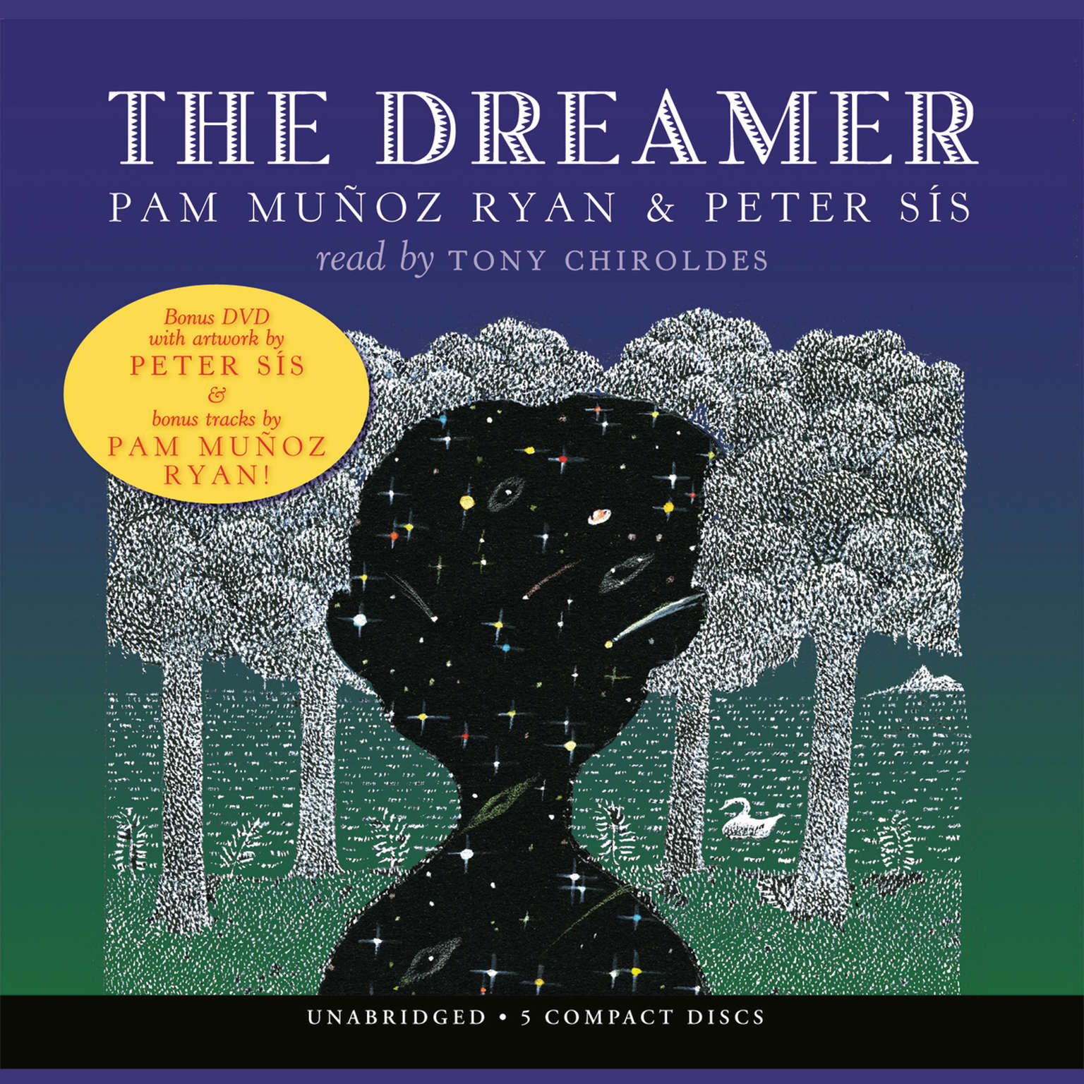 Printable The Dreamer Audiobook Cover Art