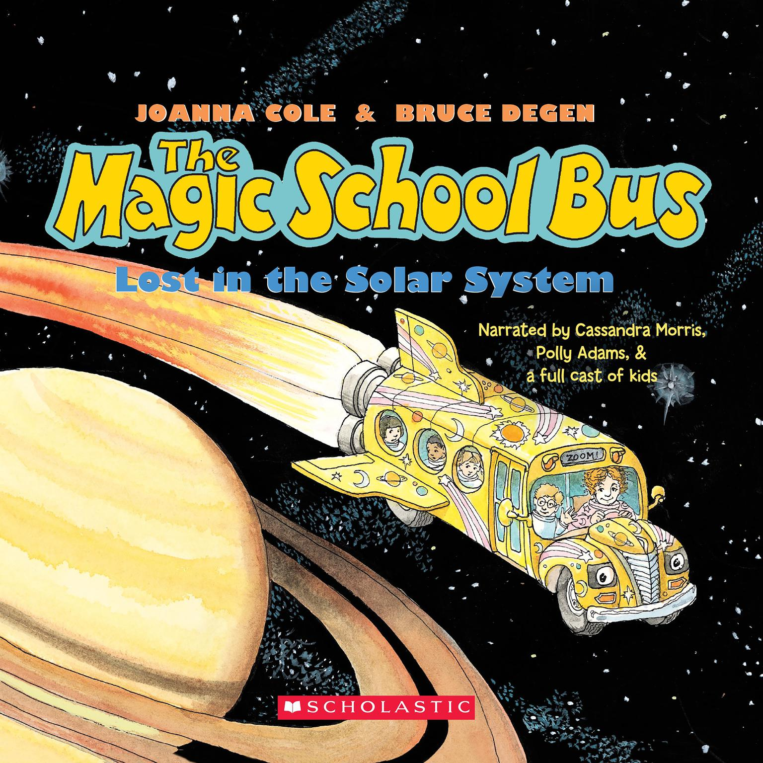 Printable The Magic School Bus Lost in the Solar System Audiobook Cover Art