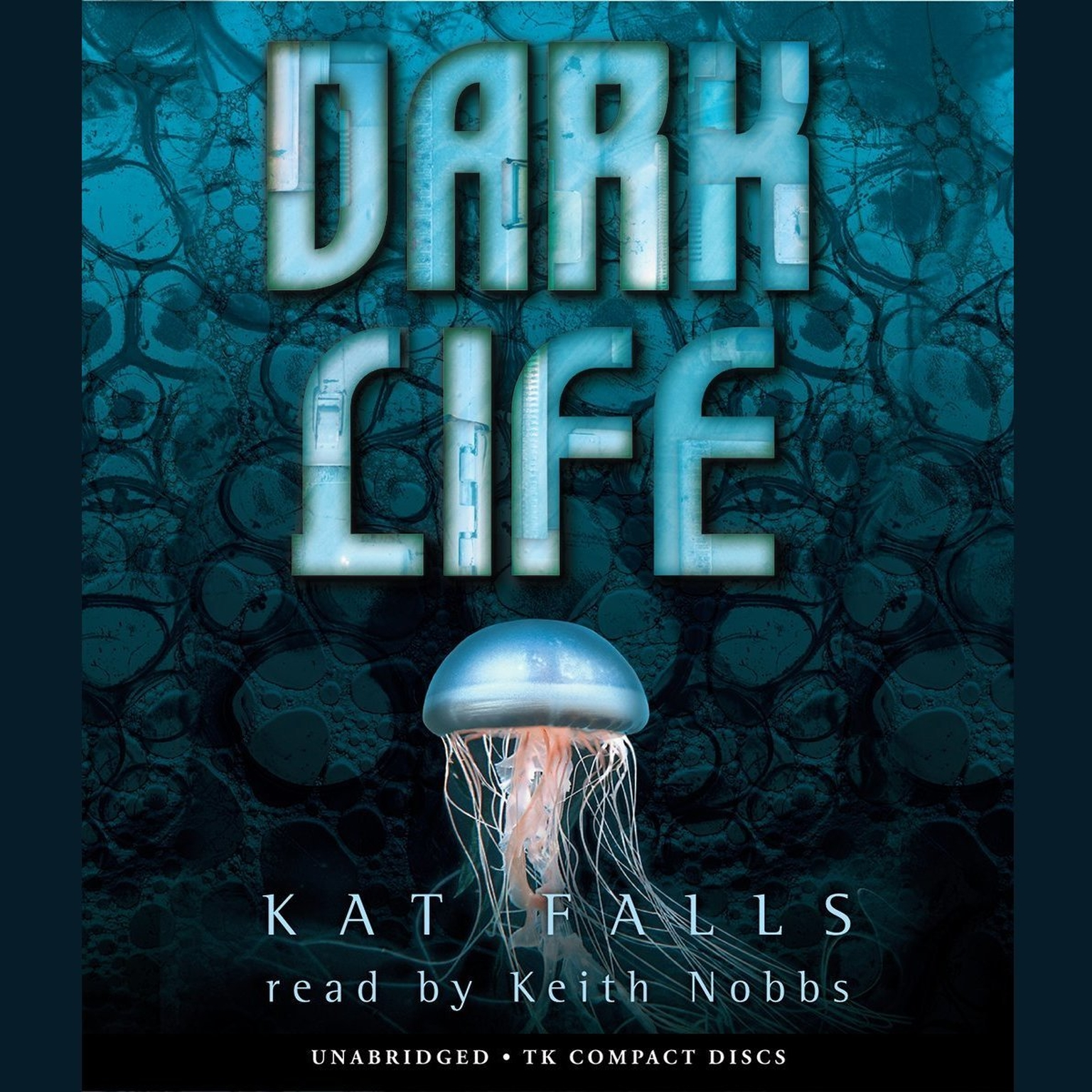 Printable Dark Life Audiobook Cover Art