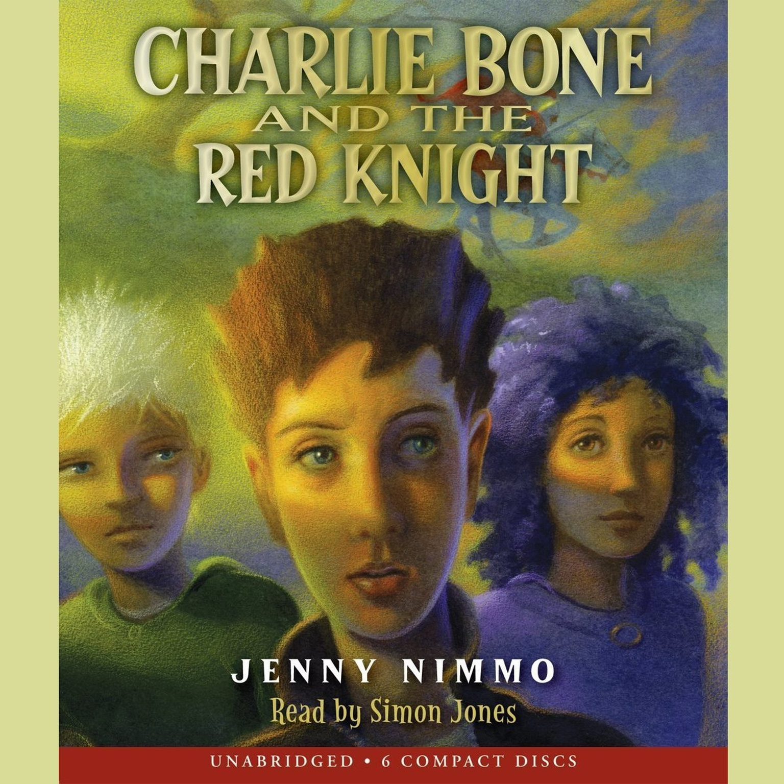 Printable Charlie Bone and the Red Knight Audiobook Cover Art