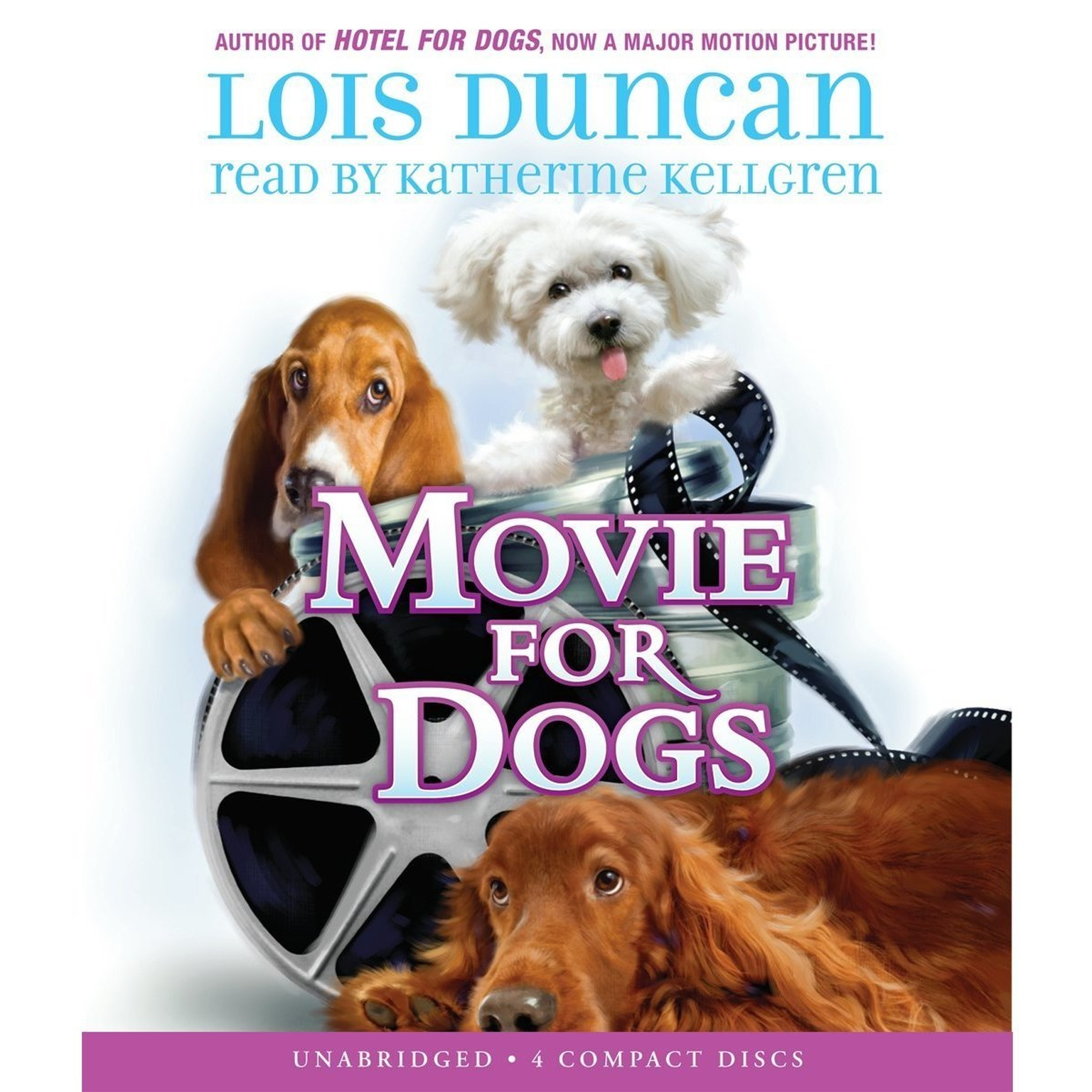 Printable Movie for Dogs Audiobook Cover Art