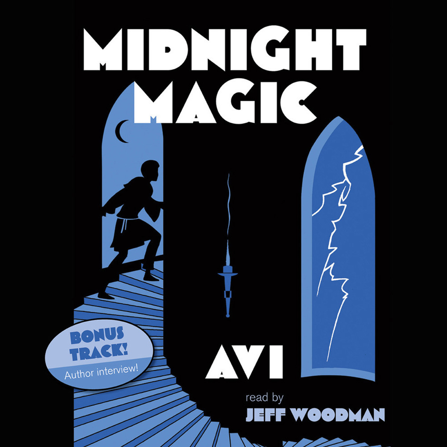 Printable Midnight Magic Audiobook Cover Art