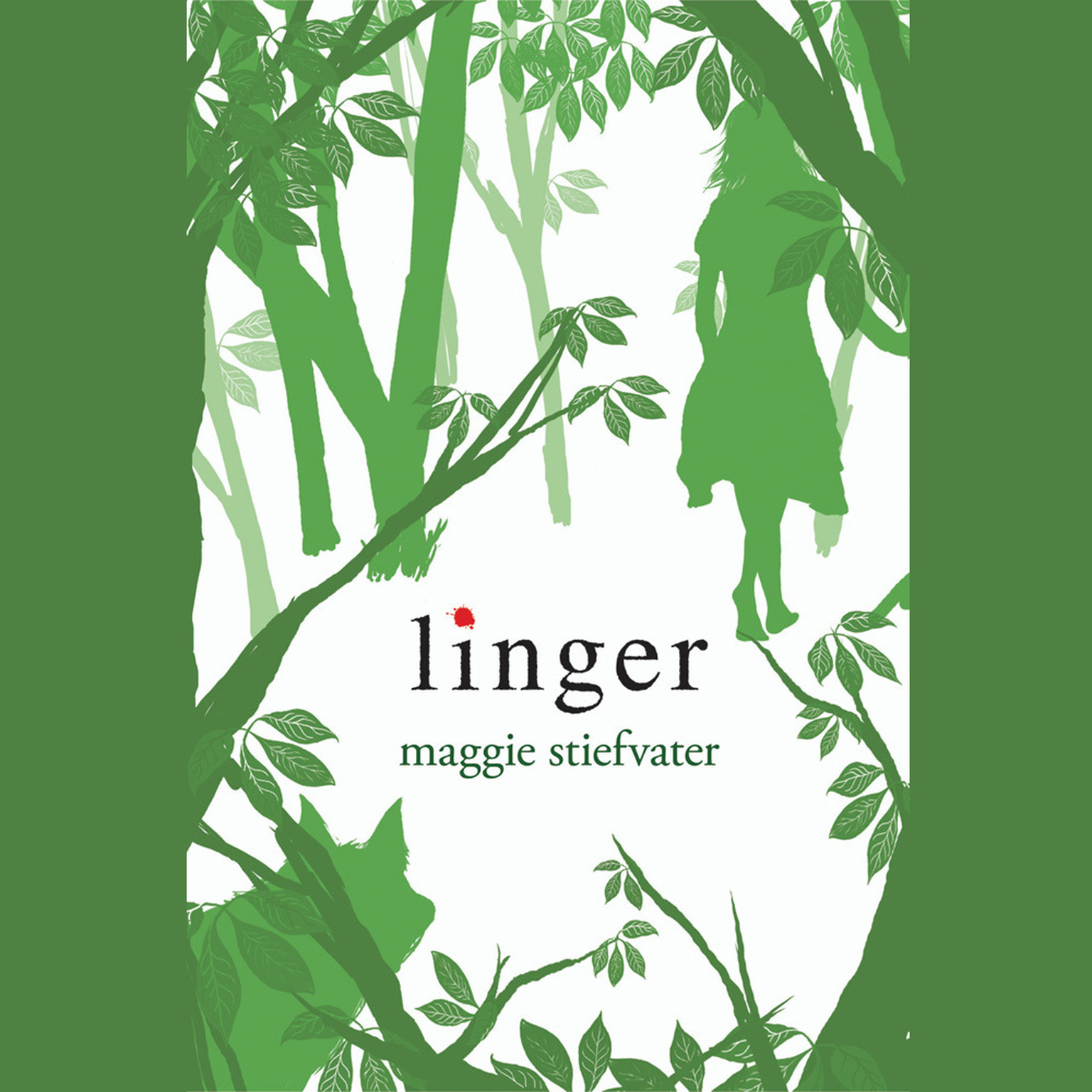Printable Linger Audiobook Cover Art