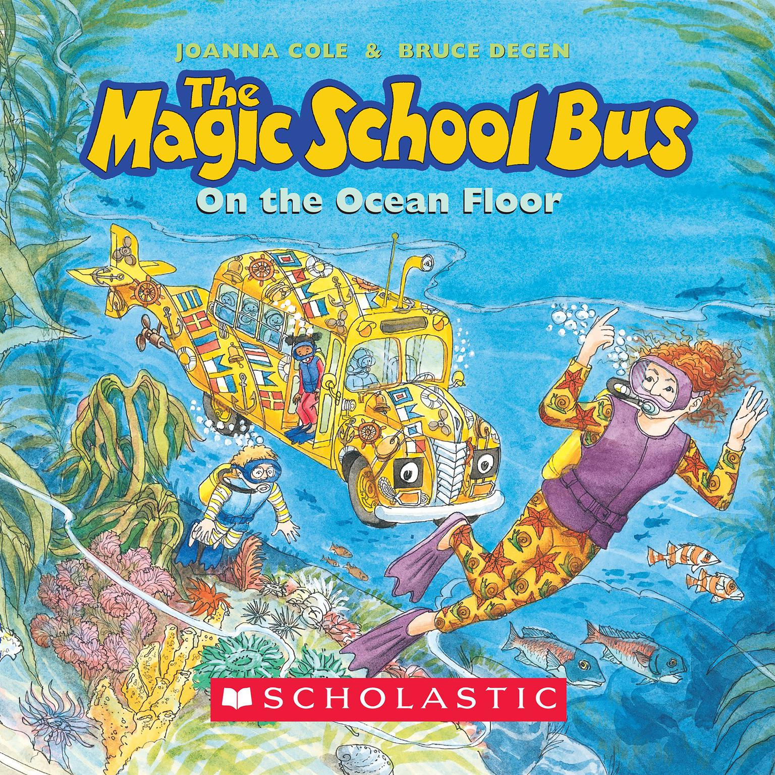 Printable The Magic School Bus on the Ocean Floor Audiobook Cover Art