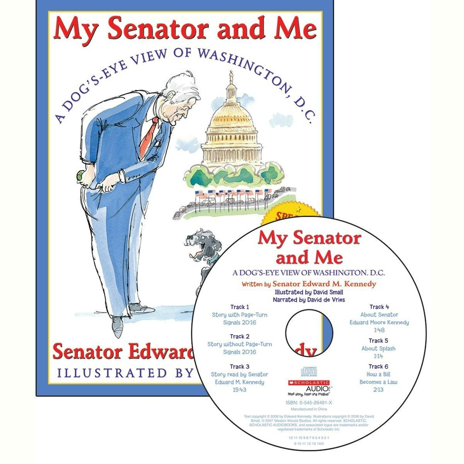 Printable My Senator and Me: Dog's Eye View of Washington, DC Audiobook Cover Art