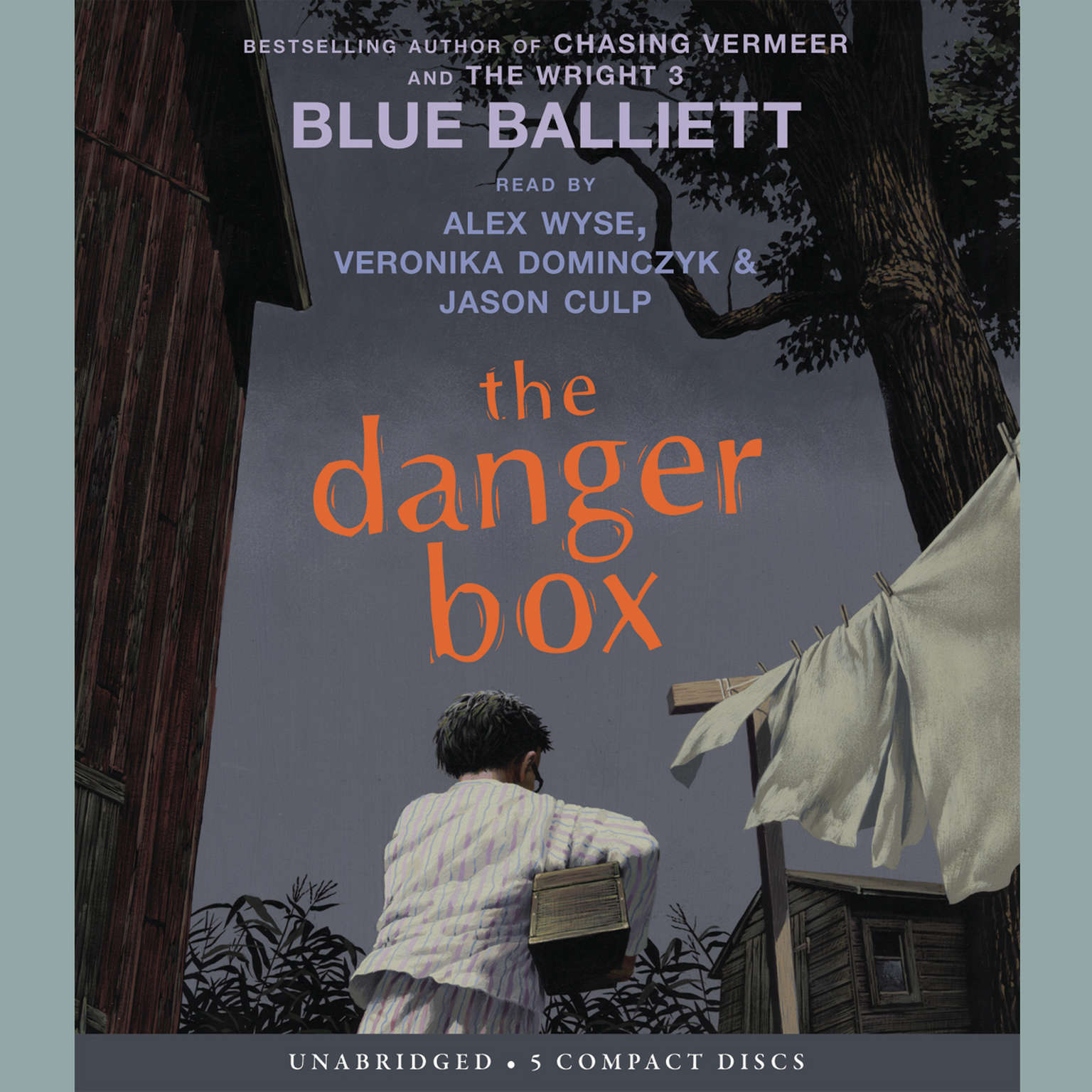 Printable The Danger Box Audiobook Cover Art