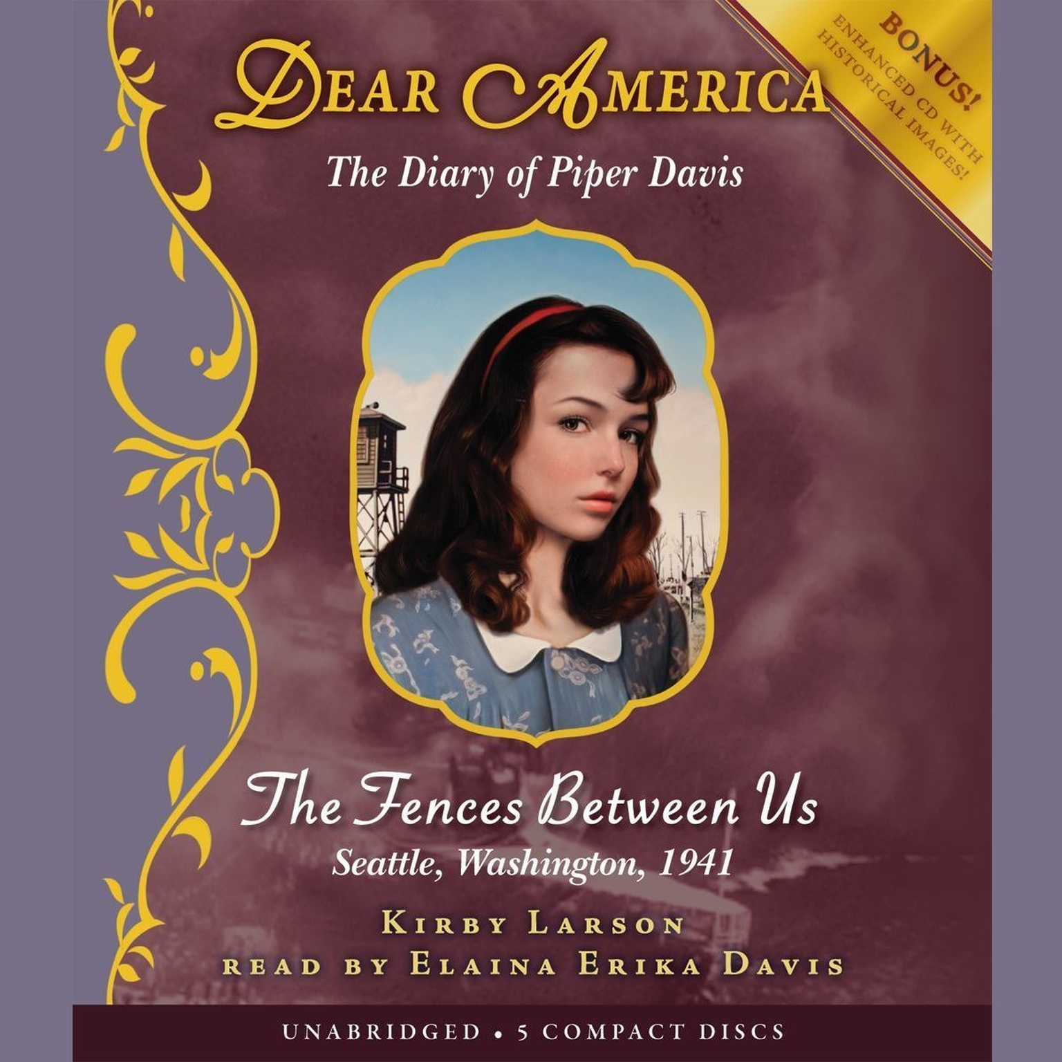 Printable The Fences between Us: The Diary of Piper Davis Audiobook Cover Art