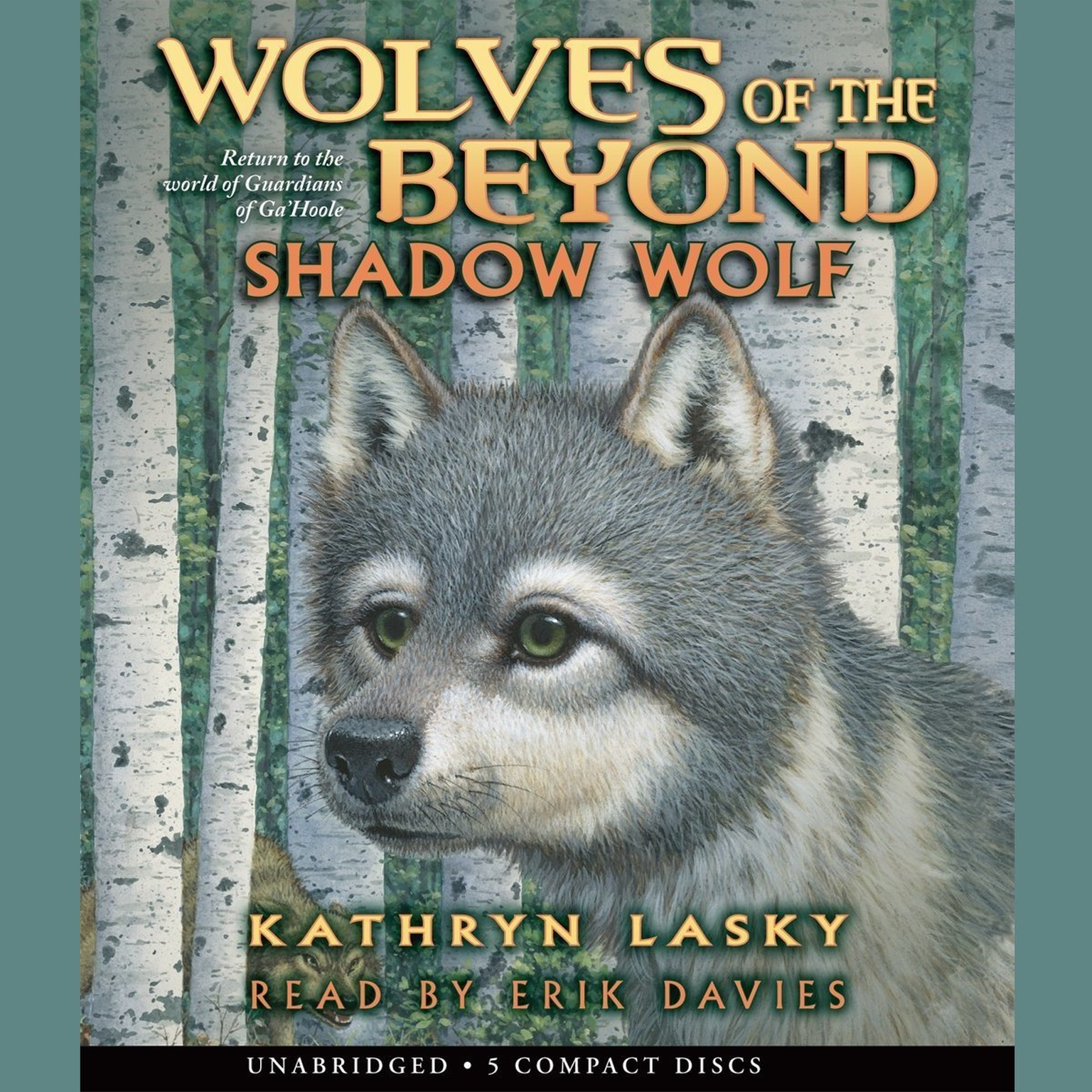 Printable Shadow Wolf Audiobook Cover Art
