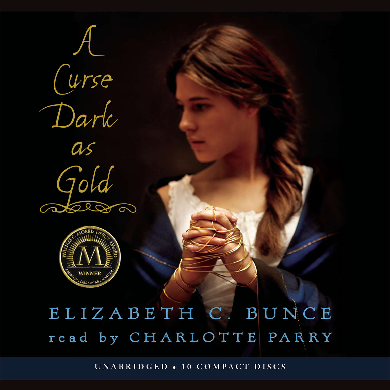 Printable A Curse Dark As Gold Audiobook Cover Art