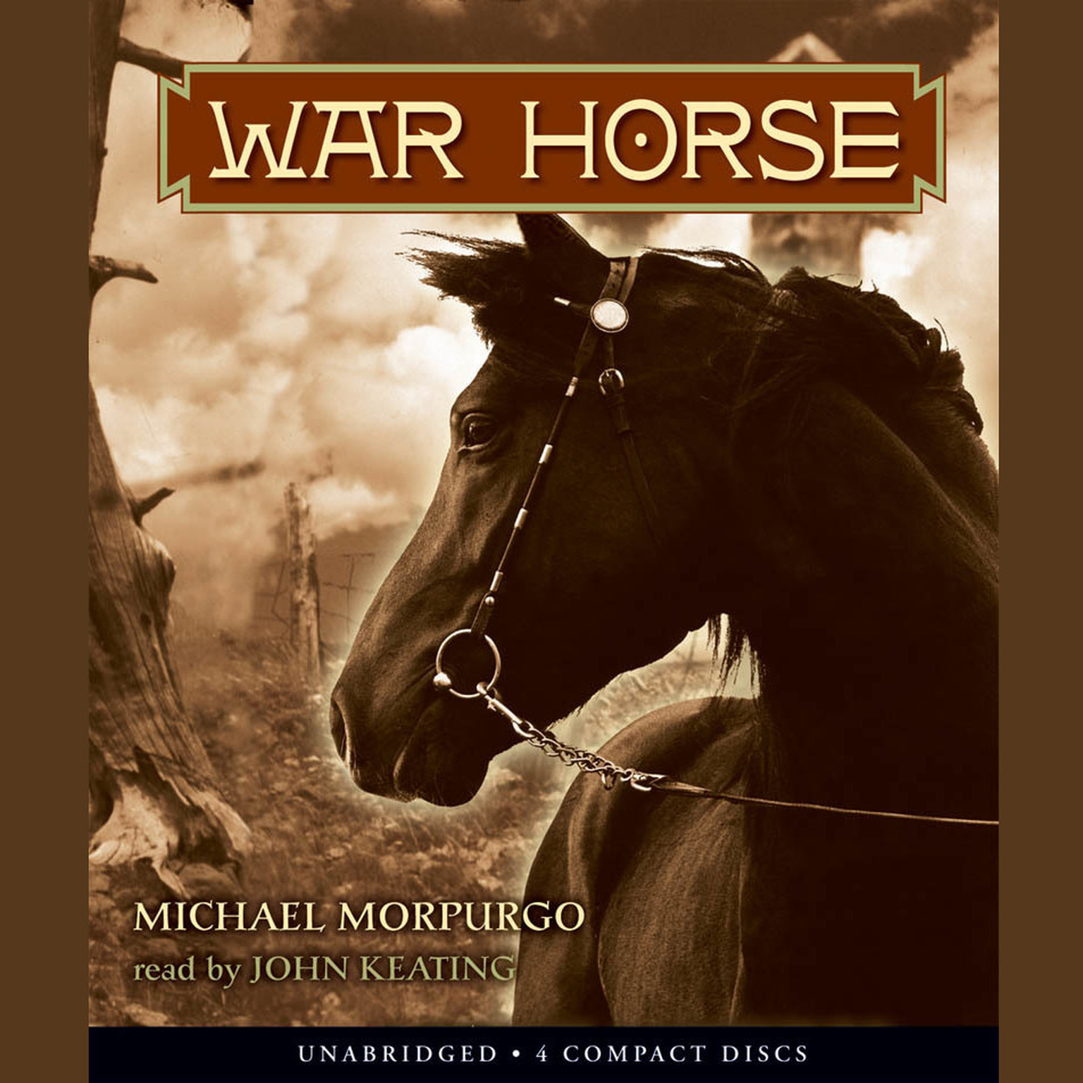 Printable War Horse Audiobook Cover Art
