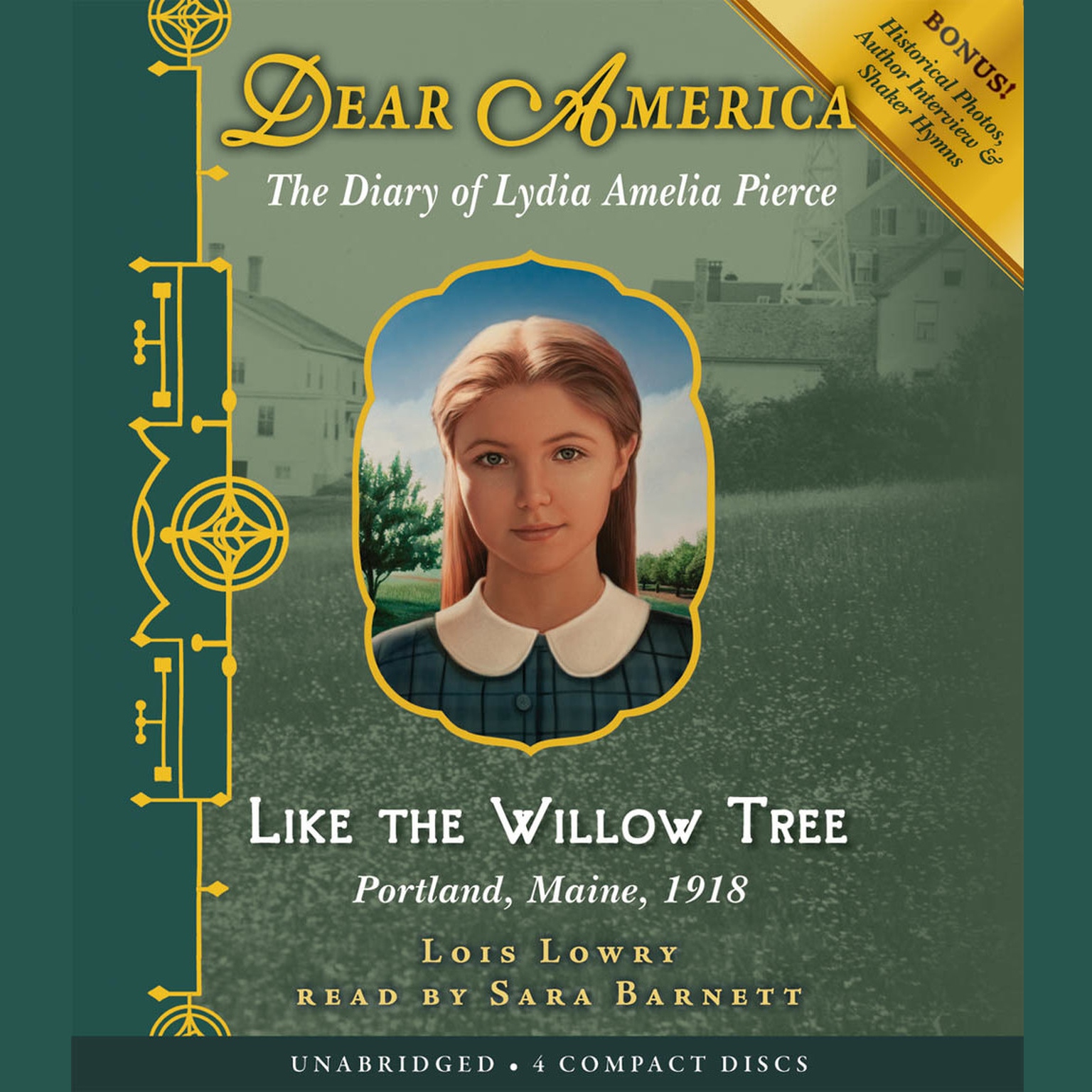 Printable Like the Willow Tree: The Diary of Lydia Amelia Pierce Audiobook Cover Art