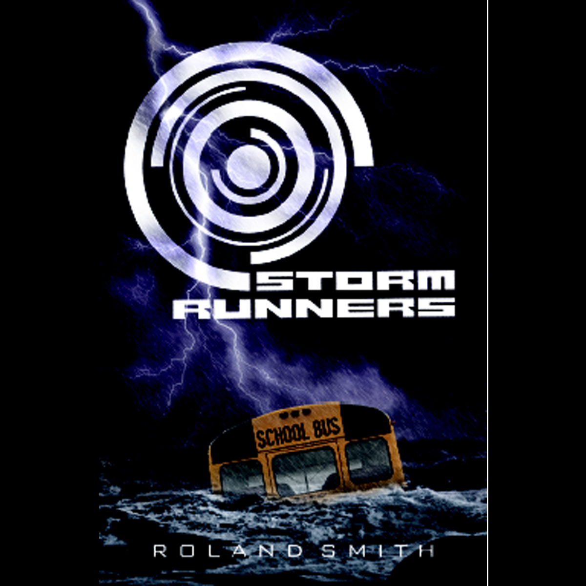 Printable Storm Runners Audiobook Cover Art