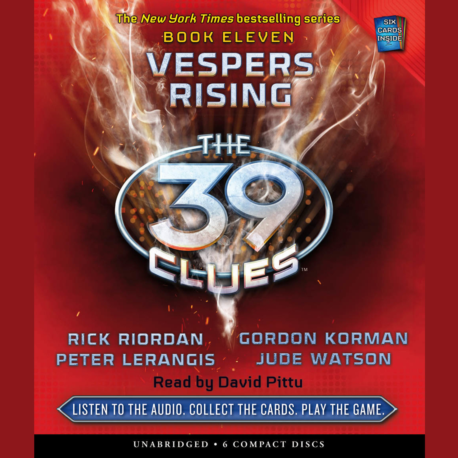 Printable Vespers Rising Audiobook Cover Art
