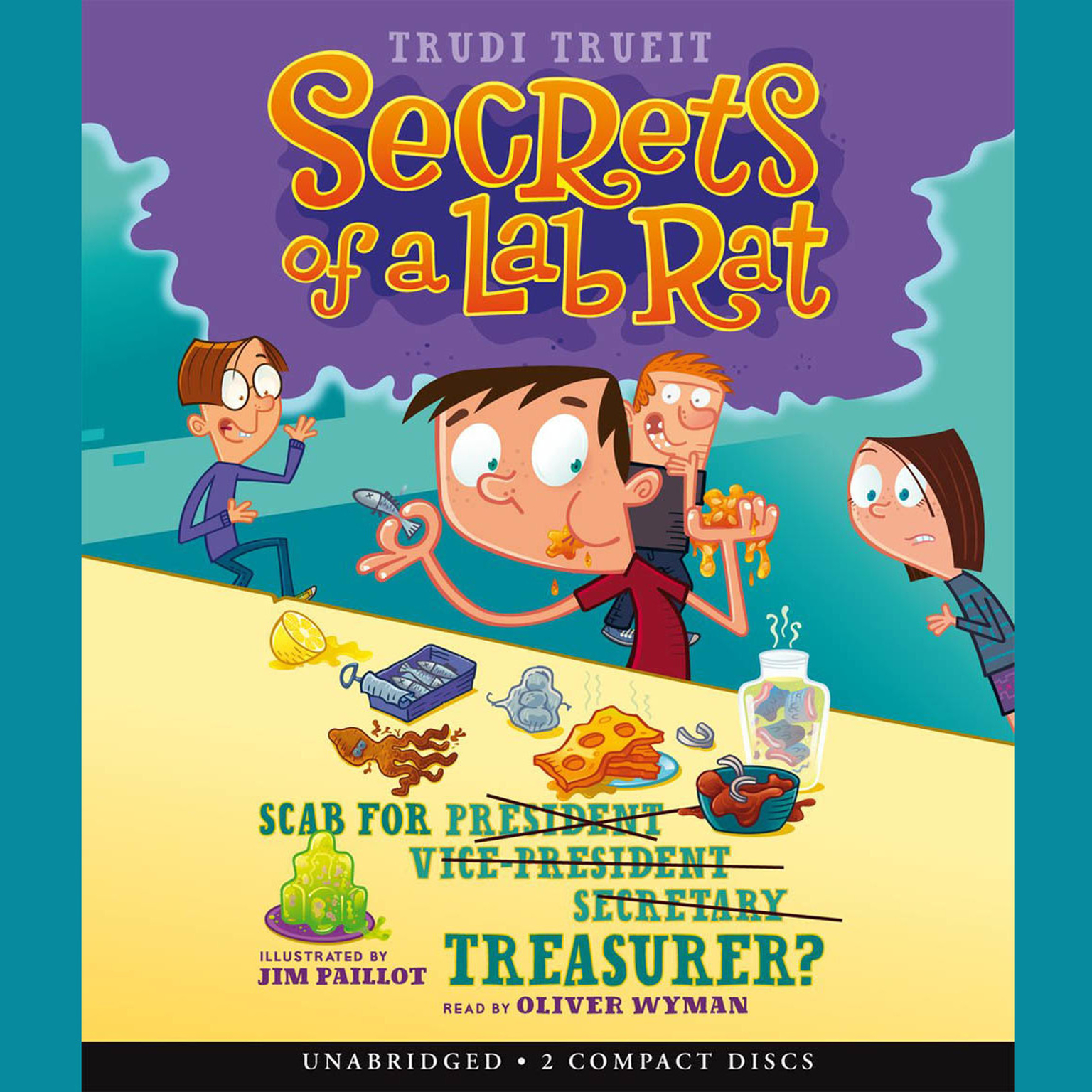 Printable Scab for Treasurer? Audiobook Cover Art