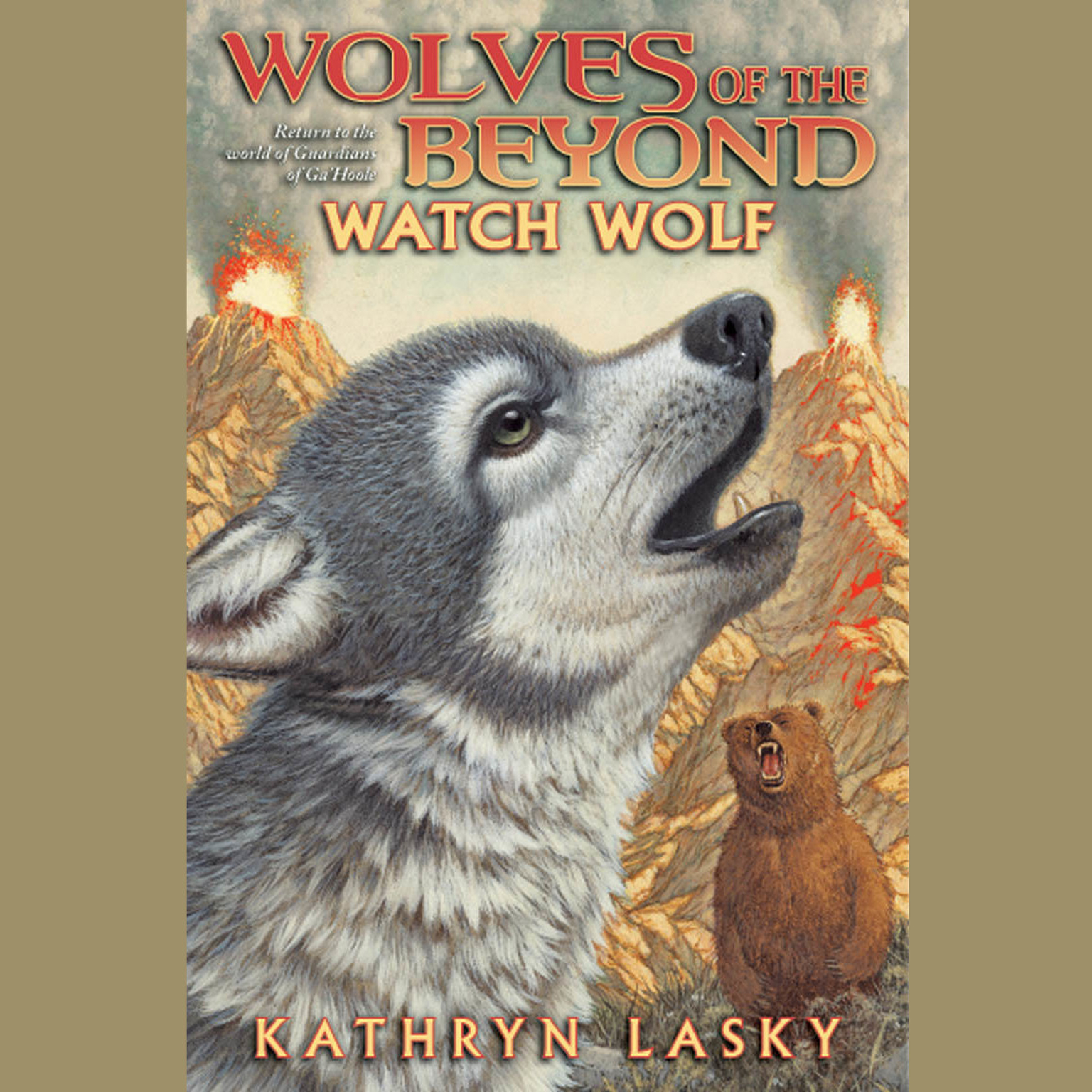 Printable Watch Wolf Audiobook Cover Art