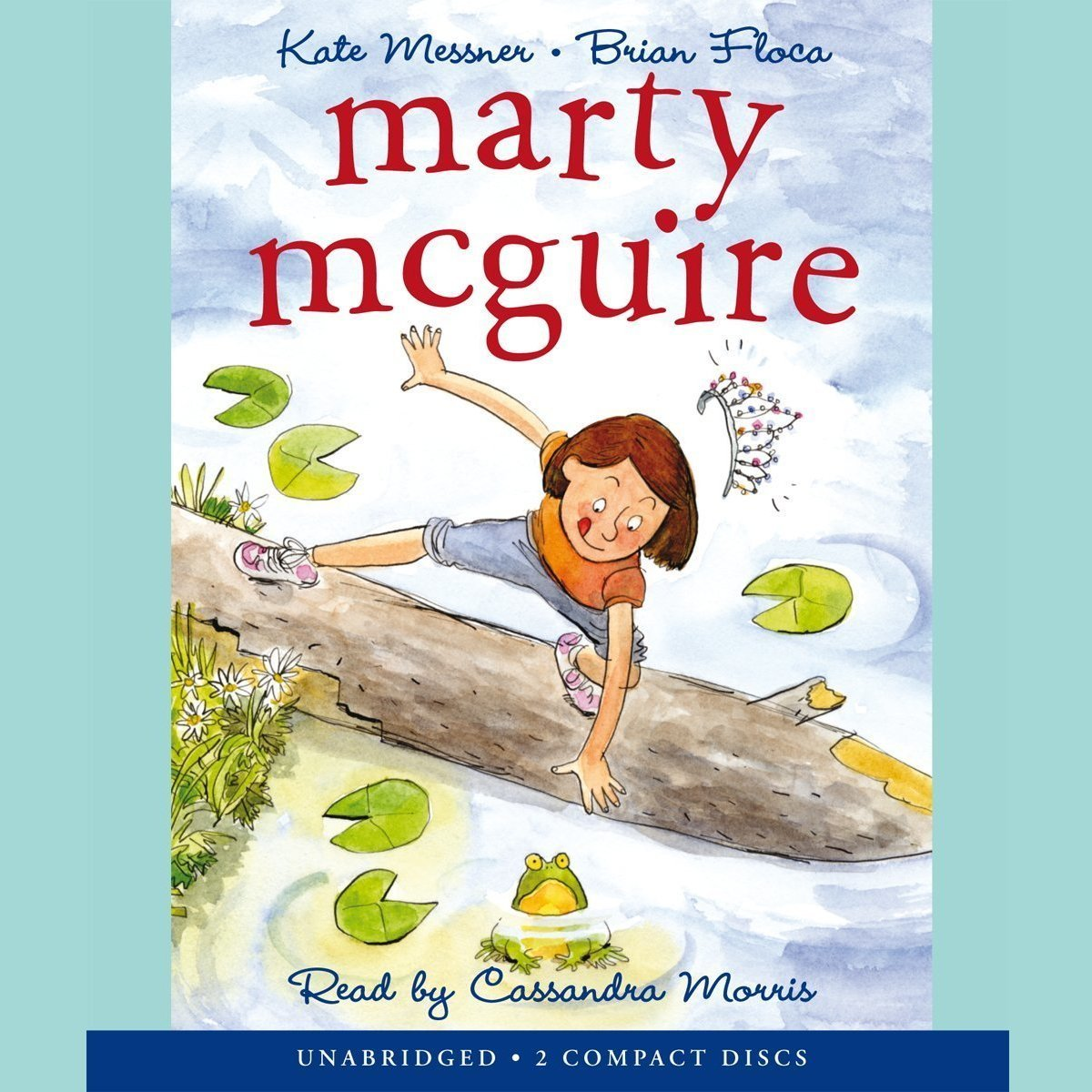 Printable Marty McGuire Audiobook Cover Art