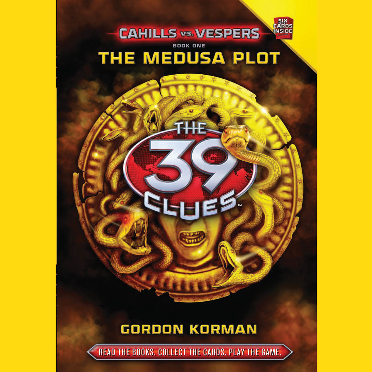 Printable The Medusa Plot: The 39 Clues: Cahills vs.Vespers Audiobook Cover Art