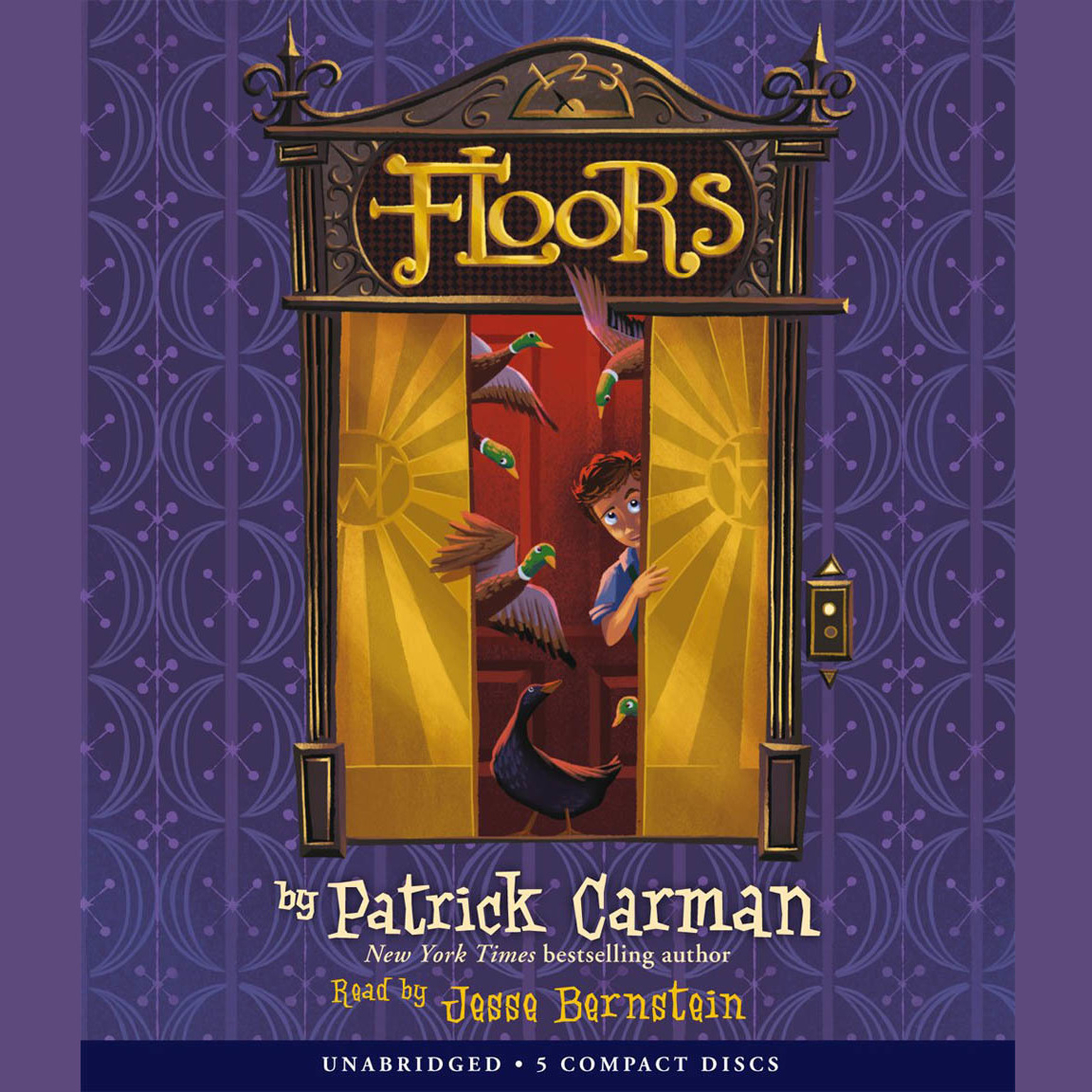 Printable Floors Audiobook Cover Art