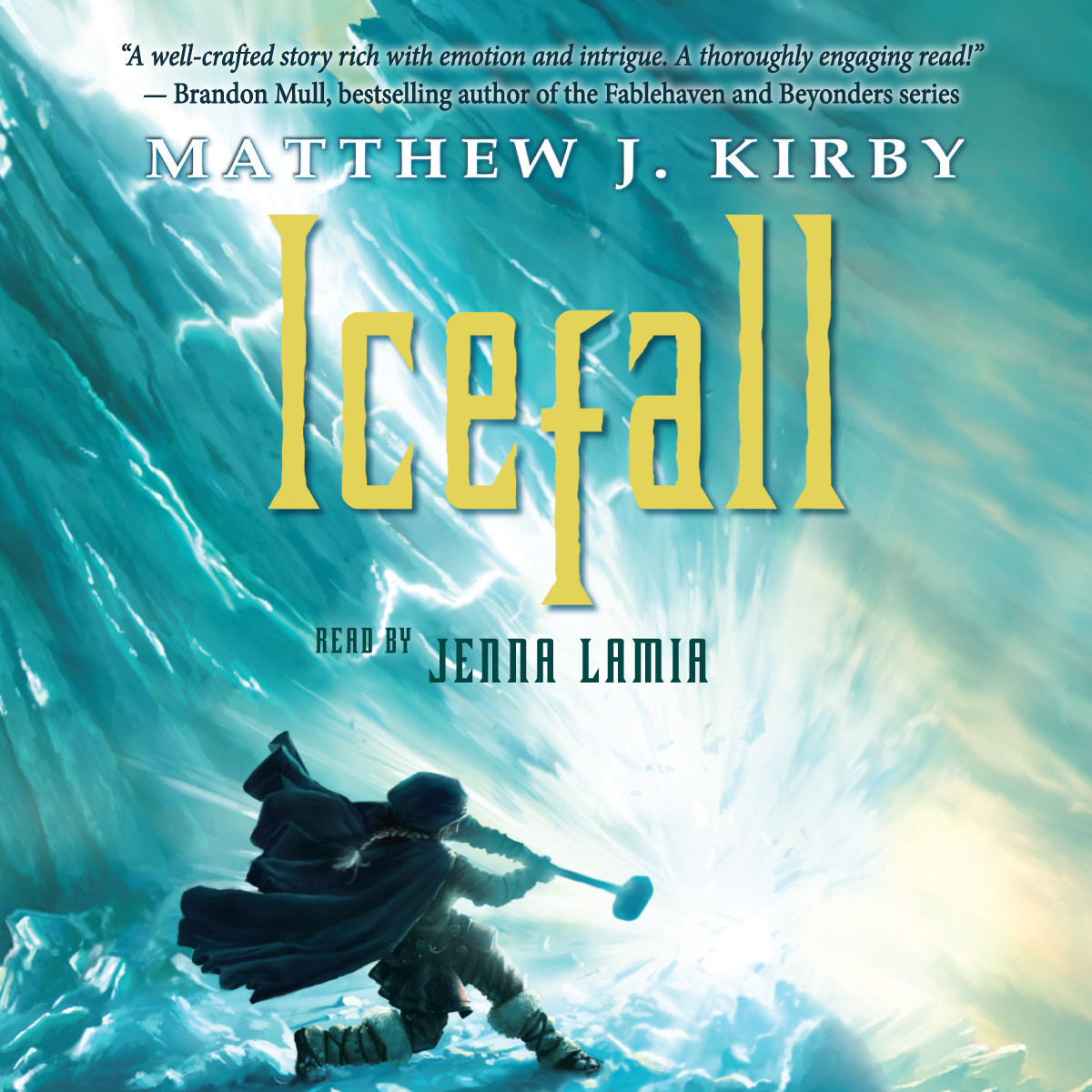Printable Icefall Audiobook Cover Art