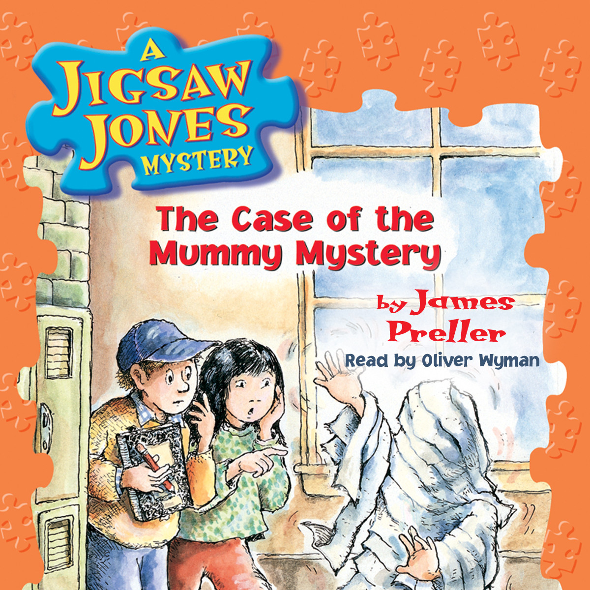 Printable The Case of the Mummy Mystery Audiobook Cover Art