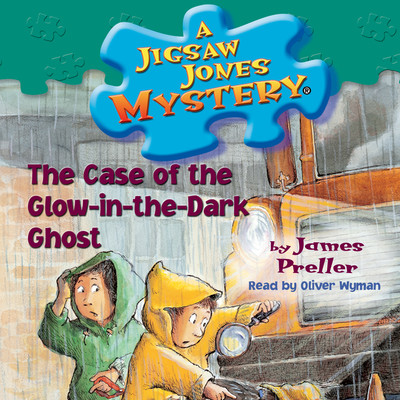 The Case of the Glow-in-the-Dark Ghost Audiobook, by James Preller